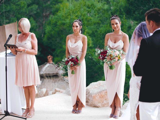 La boda de Daniel y Jossie en Cala De San Vicente Ibiza, Islas Baleares 25