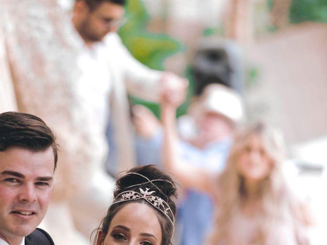 La boda de Daniel y Jossie en Cala De San Vicente Ibiza, Islas Baleares 28