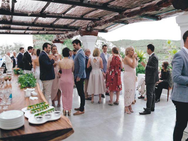 La boda de Daniel y Jossie en Cala De San Vicente Ibiza, Islas Baleares 38