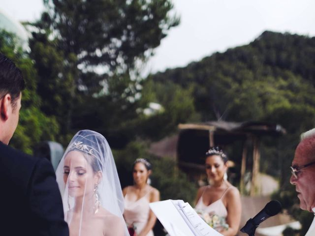 La boda de Daniel y Jossie en Cala De San Vicente Ibiza, Islas Baleares 49