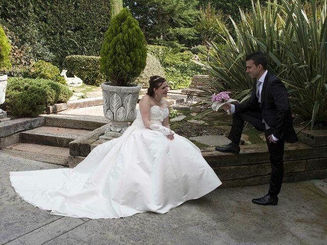 La boda de Albert y Gemma en Vallirana, Barcelona 2