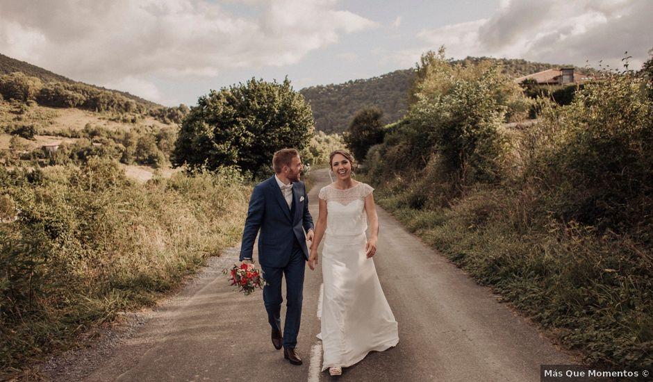 La boda de Daniel y Delphine en Quejana, Álava
