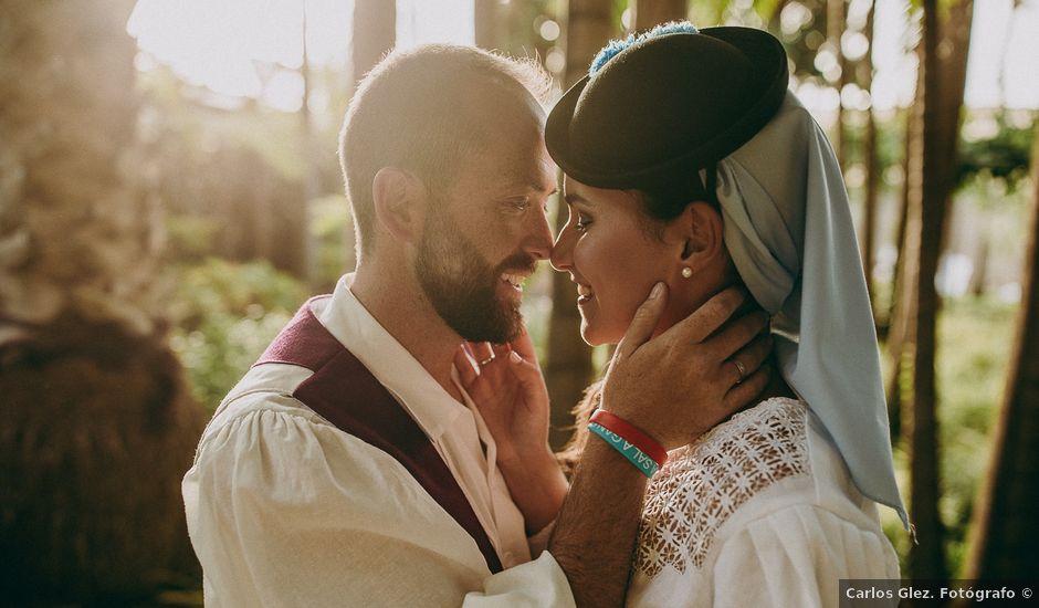 La boda de Alby y Candy en Arucas, Las Palmas