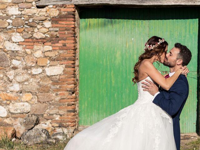 La boda de Alberto y María Jose en Sotos De Sepulveda, Segovia 1
