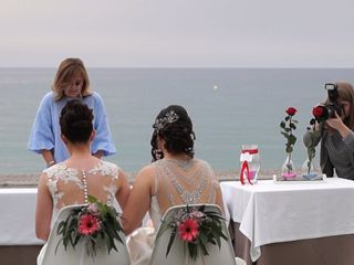 La boda de Inma y Cristina