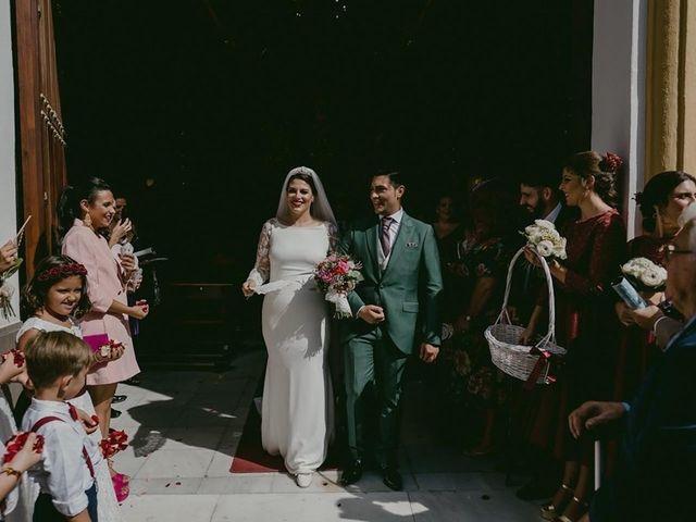 La boda de Ezequiel  y Macarena en Sevilla, Sevilla 4
