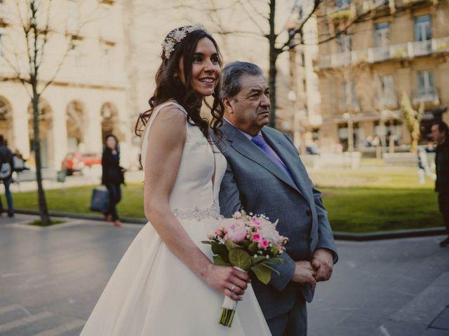 La boda de Haritz y Rocio en Donostia-San Sebastián, Guipúzcoa 44