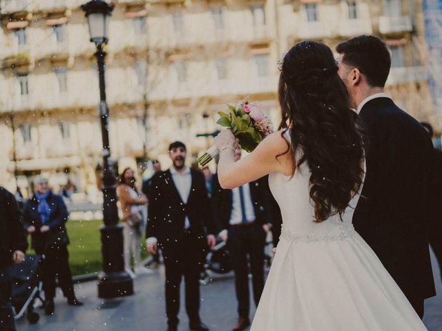 La boda de Haritz y Rocio en Donostia-San Sebastián, Guipúzcoa 111