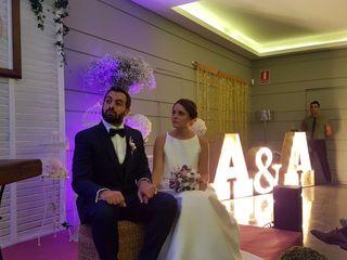 La boda de Ampi y Albert