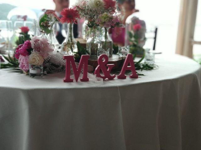 La boda de Alberto y Montse en Laxe, A Coruña 16