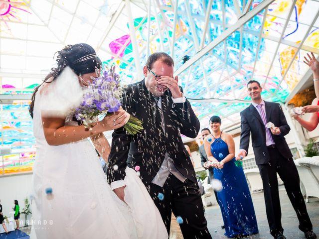La boda de Eric y Aniuska en Alboraya, Valencia 2