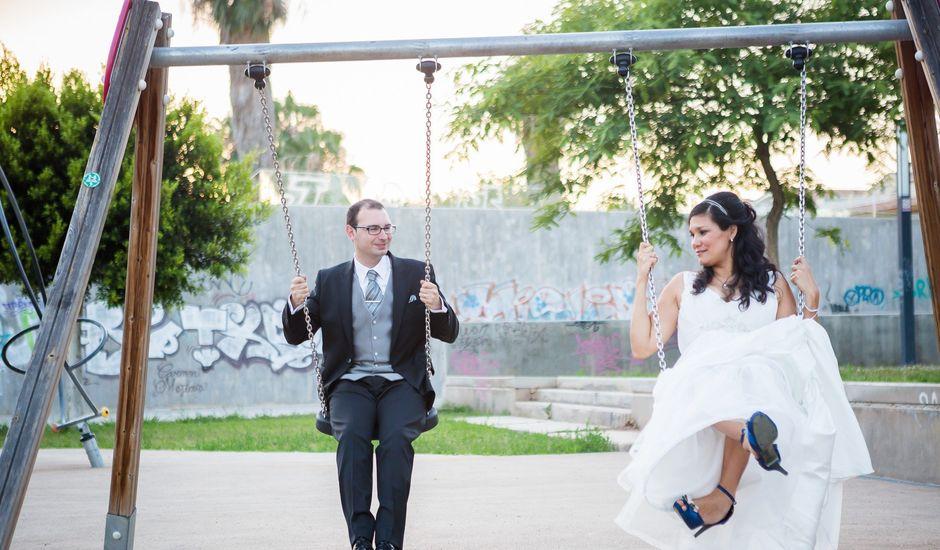 La boda de Eric y Aniuska en Alboraya, Valencia