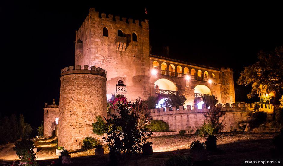La boda de Pedro Luis y Raquel en Alburquerque, Badajoz
