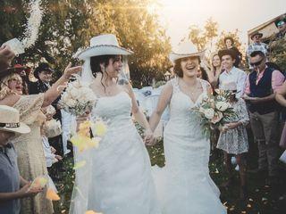 La boda de Azucena y Miriam