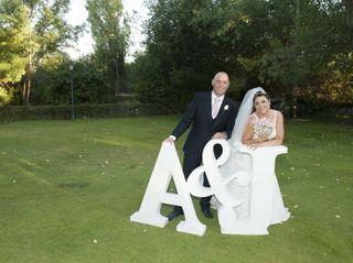 La boda de Aurora y Juanjo