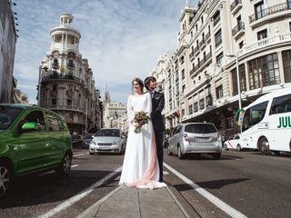 La boda de Marina y Ramsés