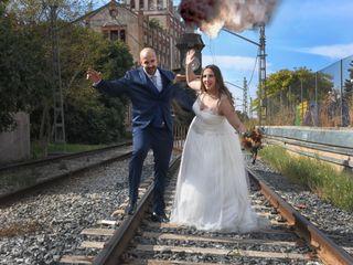 La boda de Meritxell y Hans