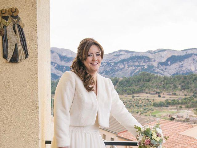 La boda de Oscar y Mercé en Horta De Sant Joan, Tarragona 5