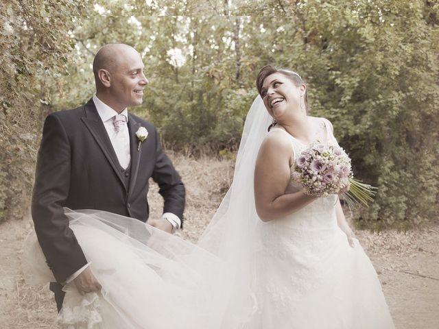La boda de Juanjo y Aurora en El Escorial, Madrid 16