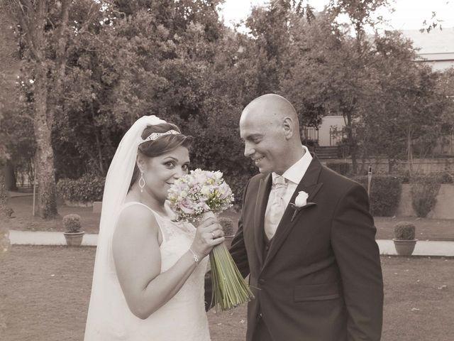 La boda de Juanjo y Aurora en El Escorial, Madrid 20