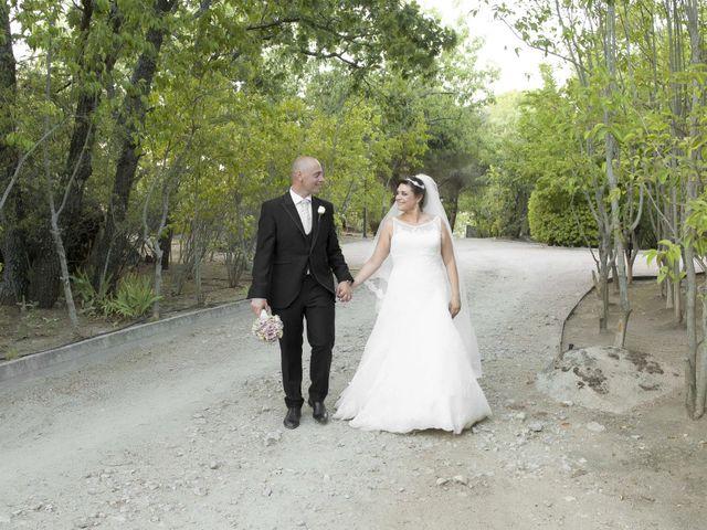 La boda de Juanjo y Aurora en El Escorial, Madrid 22