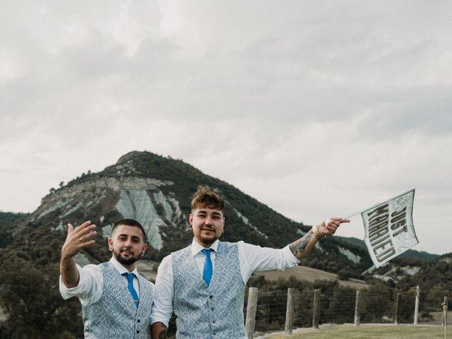 La boda de Aaron y Izan en Barcelona, Barcelona 46
