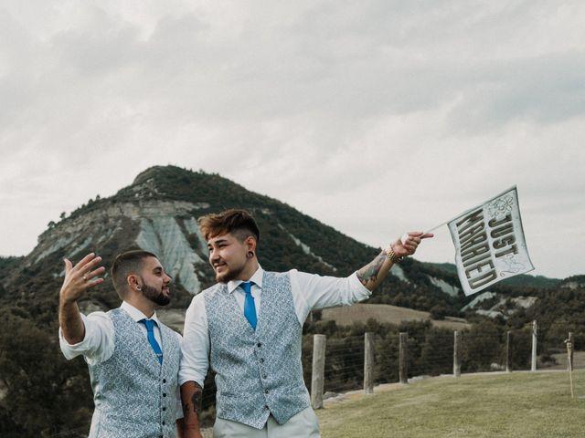 La boda de Aaron y Izan en Barcelona, Barcelona 47