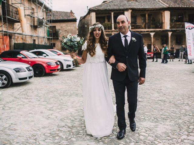La boda de Javier y Lorena en Pedraza, Segovia 24