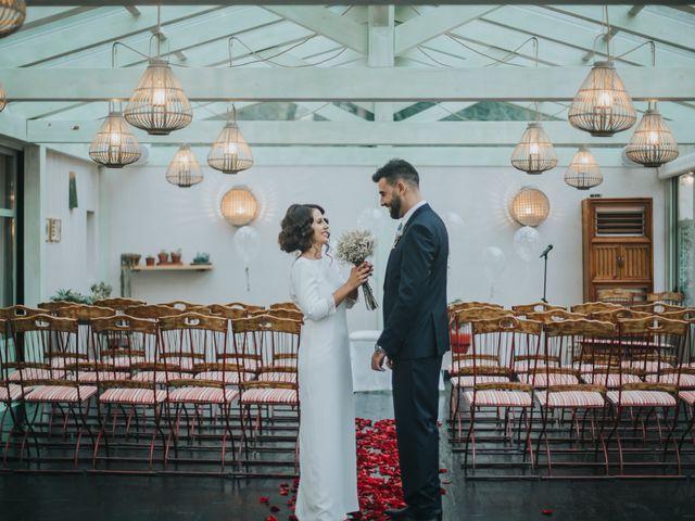 La boda de Pedro y Sabela en Madrid, Madrid 1