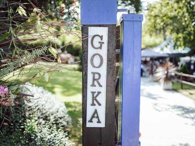 La boda de Gorka y Izaskun en Durango, Vizcaya 45