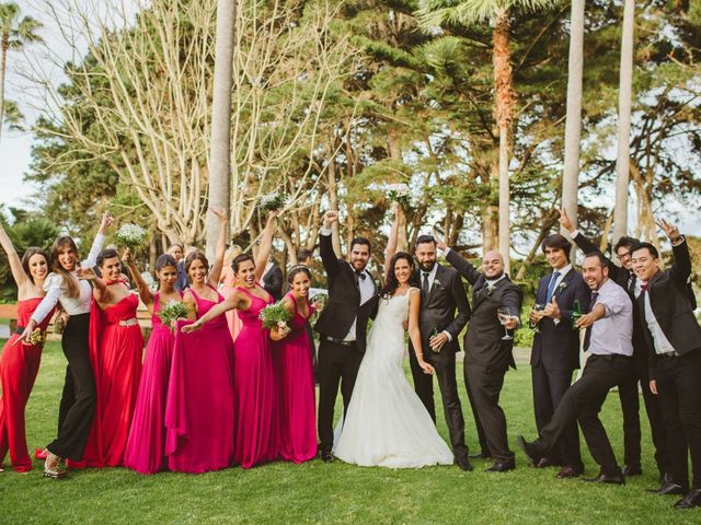 La boda de César y Keila en Arucas, Las Palmas 69