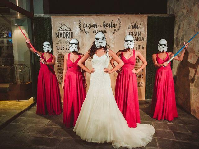 La boda de César y Keila en Arucas, Las Palmas 106