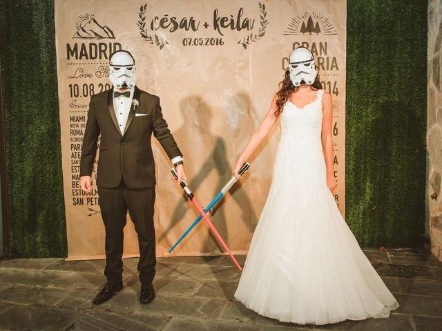 La boda de César y Keila en Arucas, Las Palmas 110