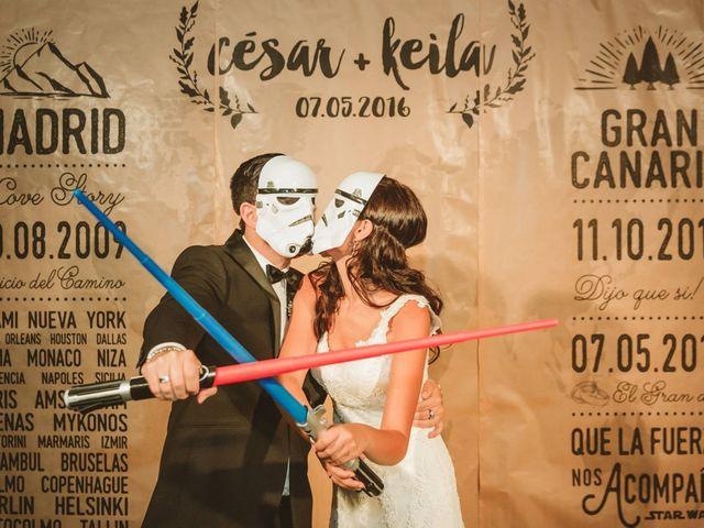 La boda de César y Keila en Arucas, Las Palmas 111