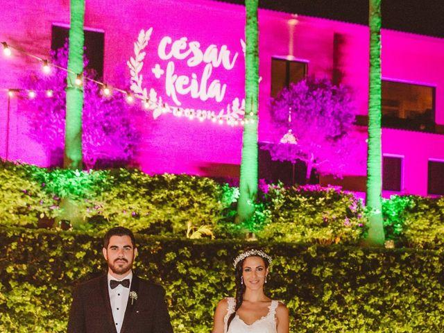La boda de César y Keila en Arucas, Las Palmas 123