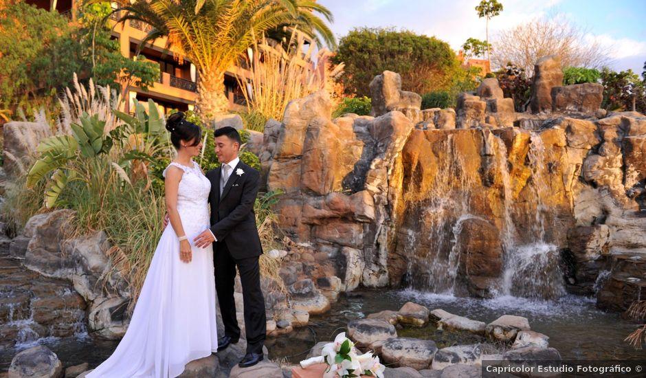 La boda de Hugo y Deborah en Adeje, Santa Cruz de Tenerife