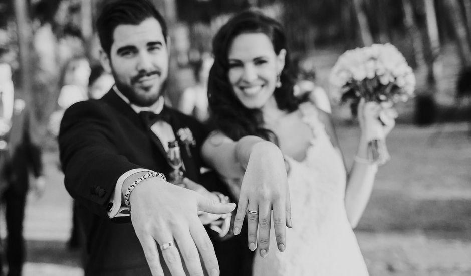 La boda de César y Keila en Arucas, Las Palmas