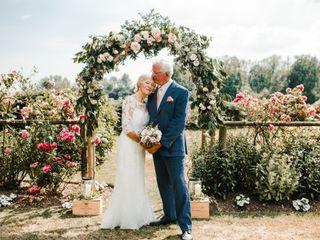 La boda de Kim y Tony