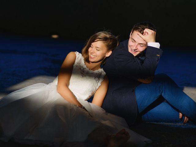La boda de Arina y Alex
