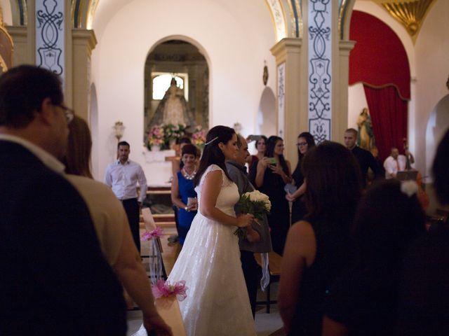 La boda de Luis Javier y Susana en Algezares, Murcia 2