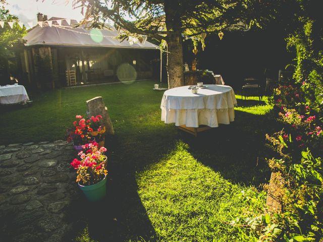 La boda de Borja y Lana en Pinilla Del Valle, Madrid 8
