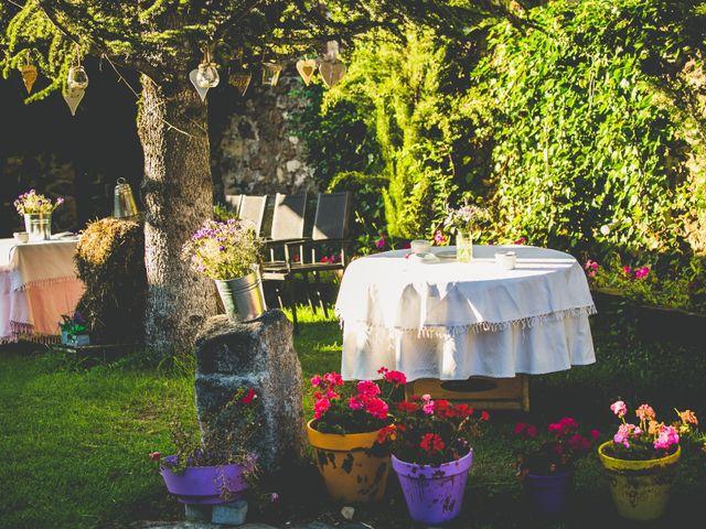 La boda de Borja y Lana en Pinilla Del Valle, Madrid 10