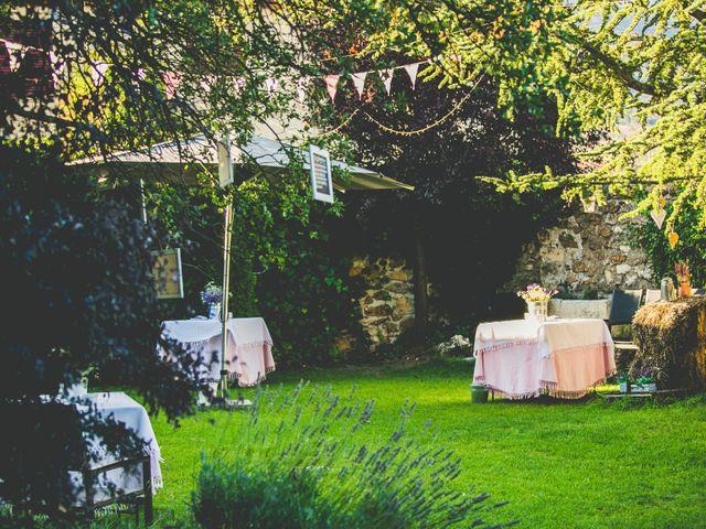 La boda de Borja y Lana en Pinilla Del Valle, Madrid 11