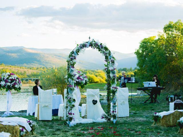 La boda de Borja y Lana en Pinilla Del Valle, Madrid 23