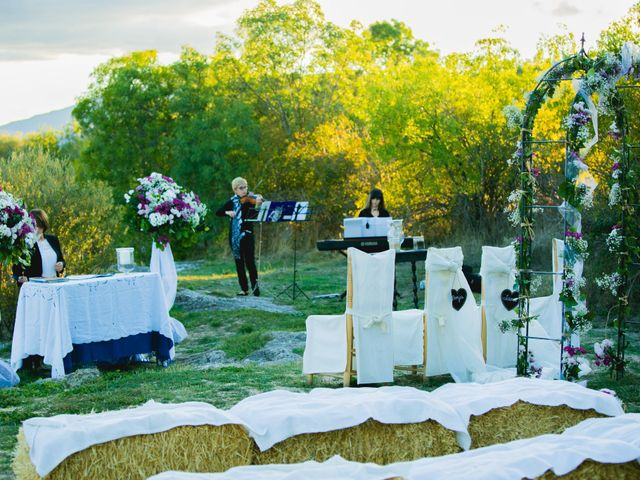 La boda de Borja y Lana en Pinilla Del Valle, Madrid 24