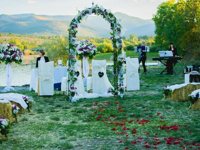 La boda de Borja y Lana en Pinilla Del Valle, Madrid 25