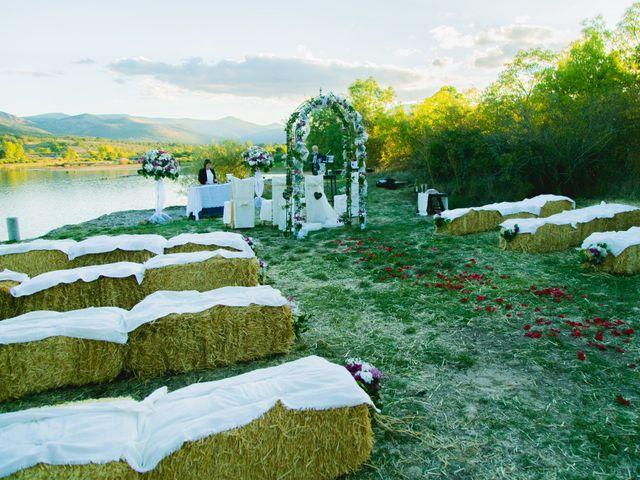 La boda de Borja y Lana en Pinilla Del Valle, Madrid 26