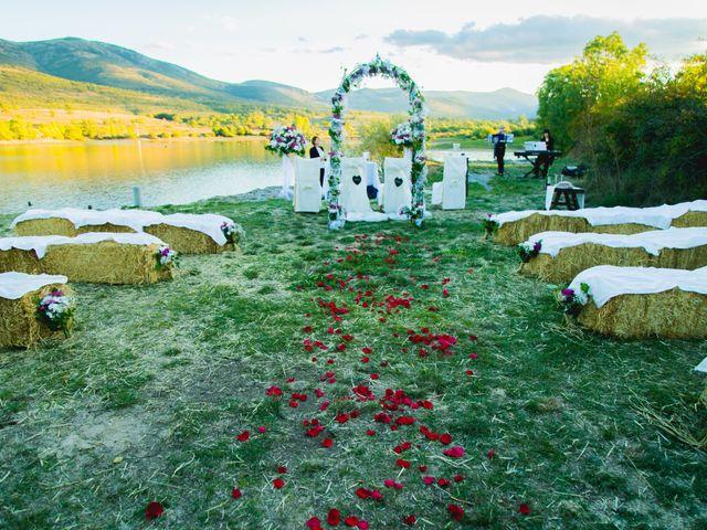 La boda de Borja y Lana en Pinilla Del Valle, Madrid 27