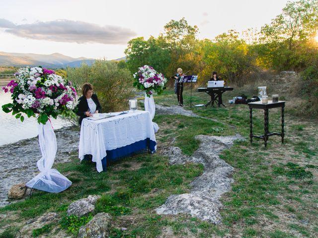 La boda de Borja y Lana en Pinilla Del Valle, Madrid 29