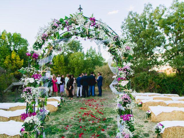 La boda de Borja y Lana en Pinilla Del Valle, Madrid 33